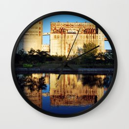 Silo no 5 Wall Clock