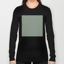 Green Pantone #839182 Long Sleeve T-shirt