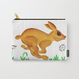 See Rabbit Run Carry-All Pouch