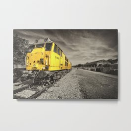 Class 31 at Exeter Riverside Metal Print