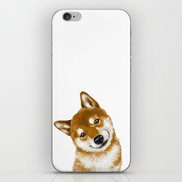 Smile Shiba Inu iPhone Skin