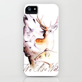 The Marauders - We Are Wild iPhone Case