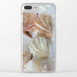 Seashells 2 Clear iPhone Case