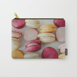 French Macaroons #society6 #decor #buyart Carry-All Pouch