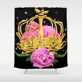 Queen crown Shower Curtain
