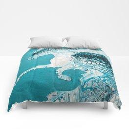 Ocean Horse Comforters