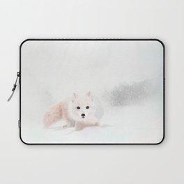 Fox In A Snowstorm Laptop Sleeve