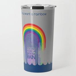 Rainbow Needs Rain Travel Mug