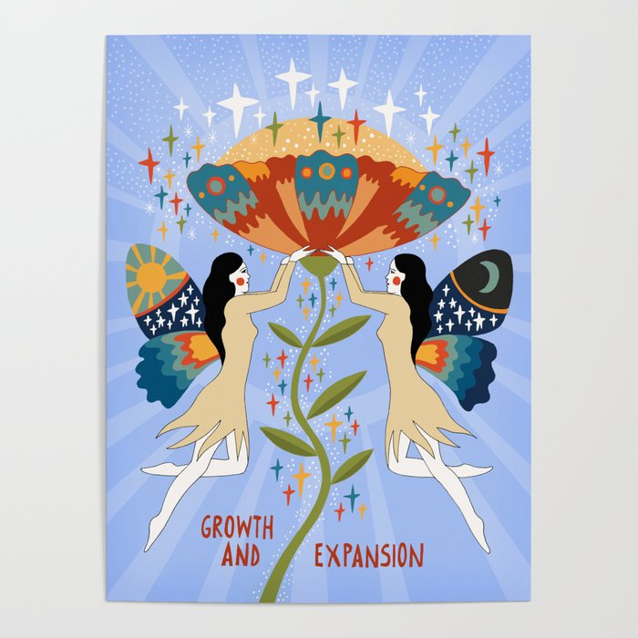 Growth and expansion Poster