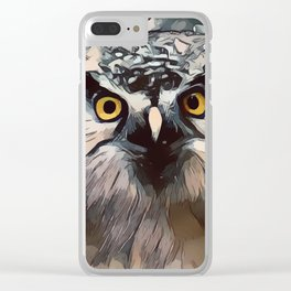 Wisdom and Knowledge Clear iPhone Case