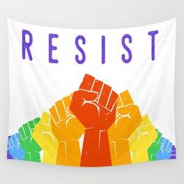 Resist (Pride) Wall Tapestry