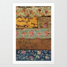 Barroco Style Art Print