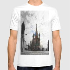 St. Basil's Cathedreal Mens Fitted Tee White MEDIUM
