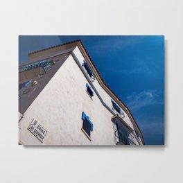 The Blue Metal Print