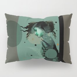 The Girl and the Moon Pillow Sham