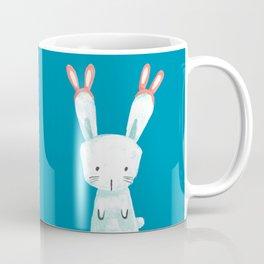 Four Eared Bunny Coffee Mug