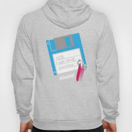 USB, I am Your Father | Retro Floppy Disk Hoody