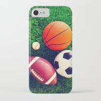 sports iPhone & iPod Cases featuring SPORTS by Ylenia Pizzetti