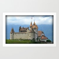 switzerland Art Prints featuring Switzerland by Photography by RH