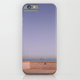 Between continents iPhone Case