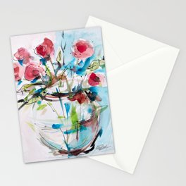 Roses (sketch) Stationery Cards