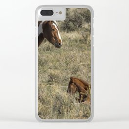 Someone to Watch Over Me Clear iPhone Case