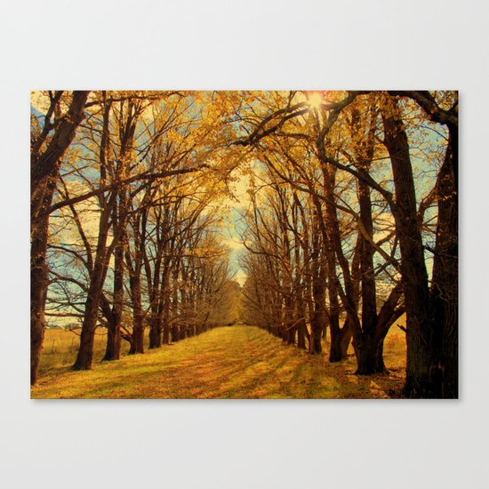 It Just Keeps Turning Canvas Print