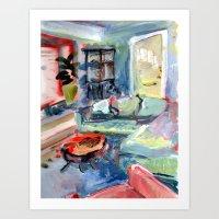 2612 45th Ave SW Art Print