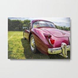 MG Classic Car Metal Print