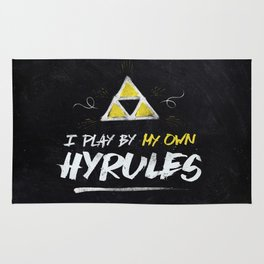 Legend of Zelda Inspired Type I Play by My Own Hyrules Rug