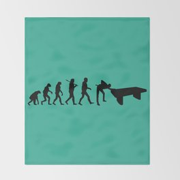 Evolution snooker Throw Blanket