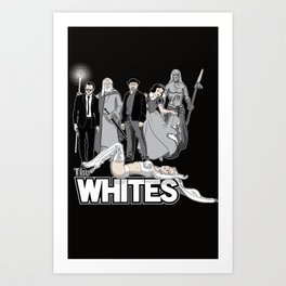 The Whites Art Print