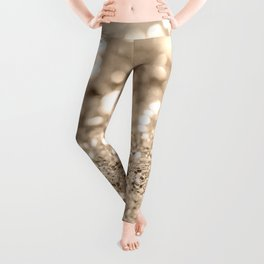 Gold Lady Glitter #1 #shiny #decor #art #society6 Leggings
