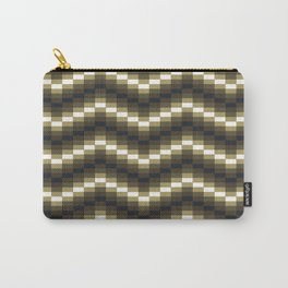 Block Wave Illustration Artwork Carry-All Pouch