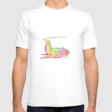 Magical Edith White MEDIUM Mens Fitted Tee