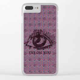 Eye on you Geo Clear iPhone Case