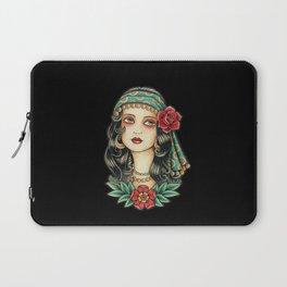 Gipsy tattoo Laptop Sleeve