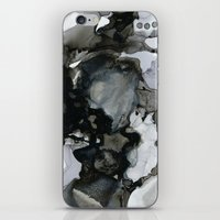 mid century modern iPhone & iPod Skins featuring Mid Century Modern Cephalopod by anoctopusaday