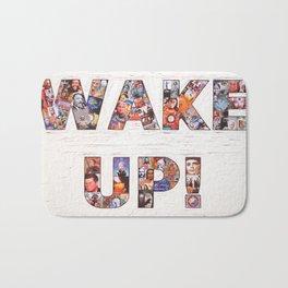 WAKE UP! Bath Mat