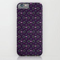 Pixel Heart Love Slim Case iPhone 6s