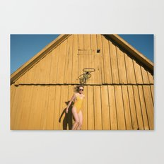 Yellow Sunday Canvas Print