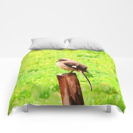 The Bird Painting Comforters
