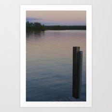 Lake Vermillion Art Print