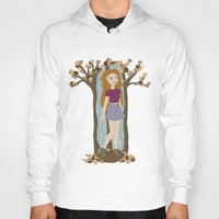 lydia martin Hoodies featuring Autumn Lydia by tashaliz