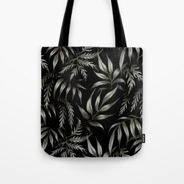 Brooklyn Forest - Black Tote Bag
