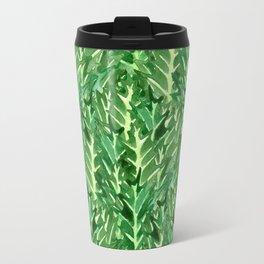 Holly Jolly Leaves (Small Pattern) Travel Mug