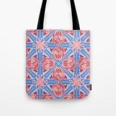 Pink Panther Pattern Tote Bag