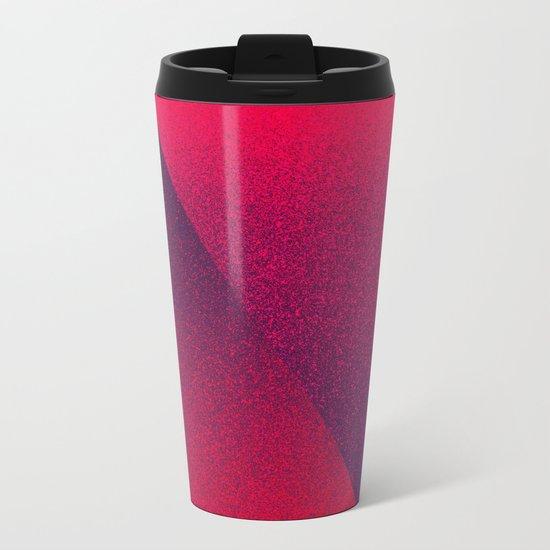 OMBRE / blackberry Metal Travel Mug