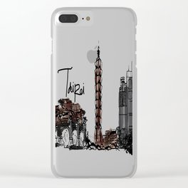 Taipei Clear iPhone Case