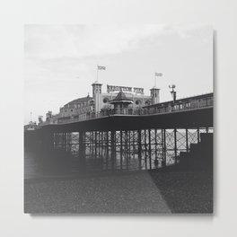 Brighton Pier Metal Print